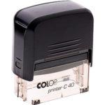Заказать штамп на автоматической оснастке colop
