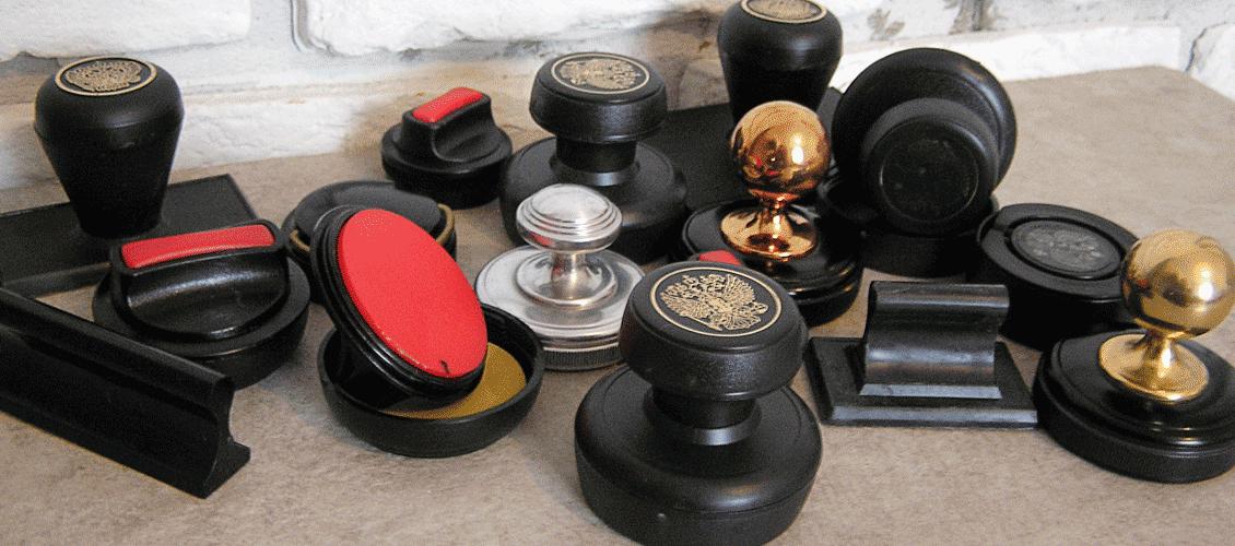 ручные оснастки для печатей пластик металл